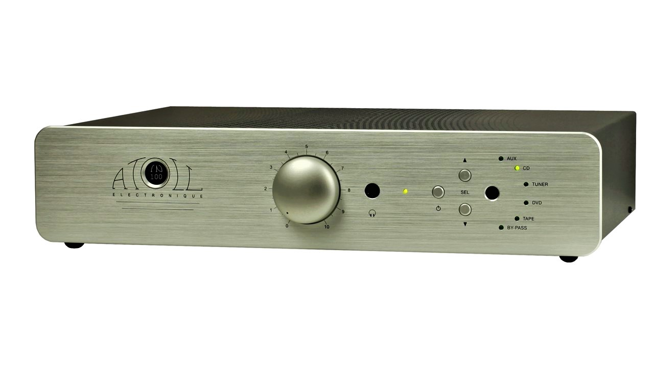 Atoll Integrated Amplifier IN100se - Front View