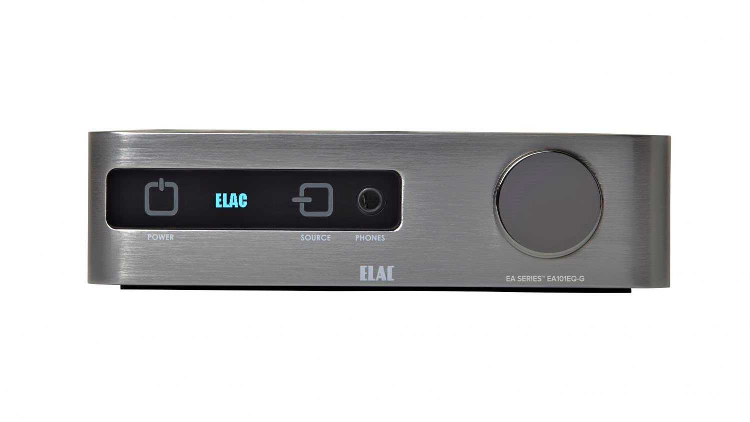 Elac Integrated Amplifier EA101EQ-G - Front View