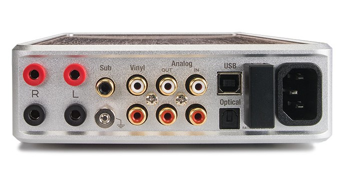 PS Audio Integrated Amplifier Sprout 100 - Rear View